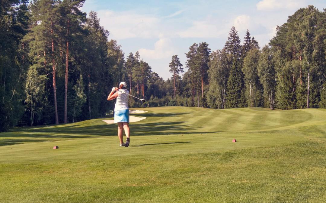 Открытый урок для начинающих гольфистов 13 февраля