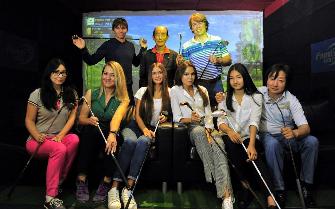 Golf Plaza Корейский Дом объявляет набор в летнюю школу гольфа