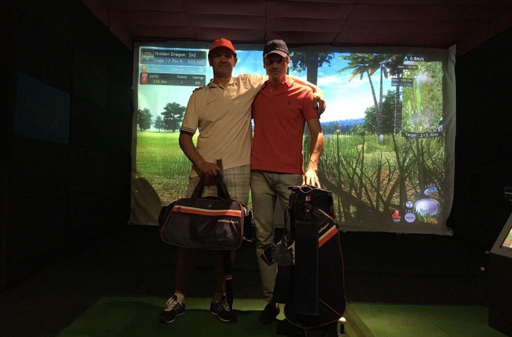 Поздравляем победителей турнира «матч плей Golf Plaza 2018″
