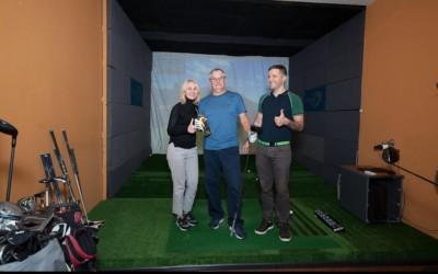Первый Hole-in-one в новом сезоне Golf Plaza